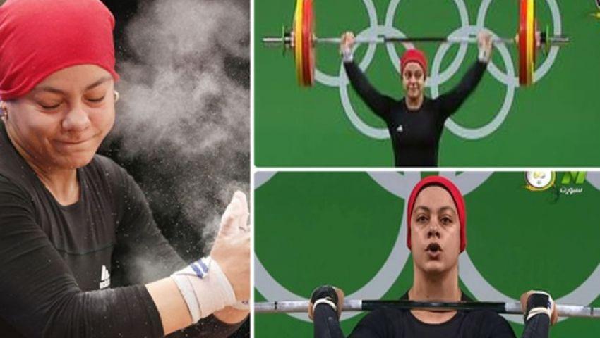 الأثقال: سارة سمير منقطعة عن التدريبات.. ولم يصلنا قرار اعتزالها