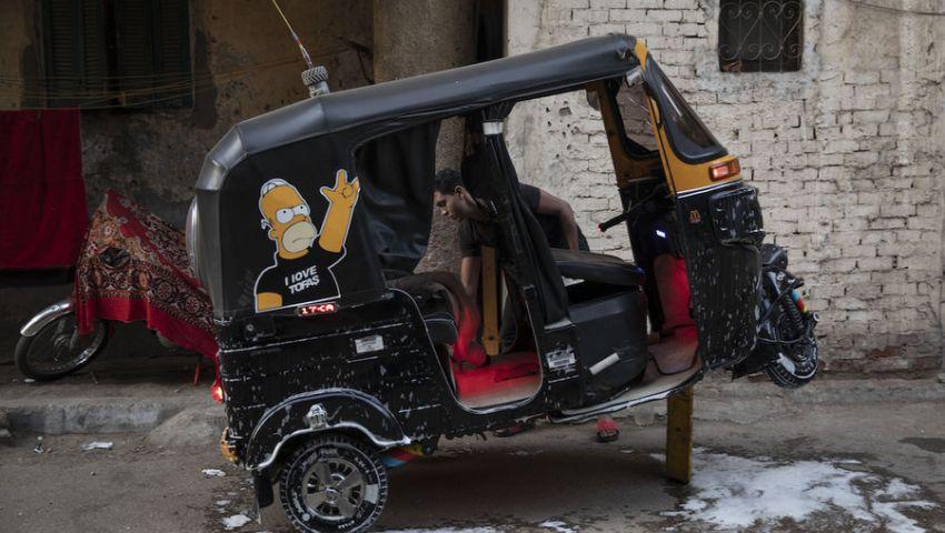 أسوشيتد برس: هل يختفي التوكتوك من شوارع مصر؟