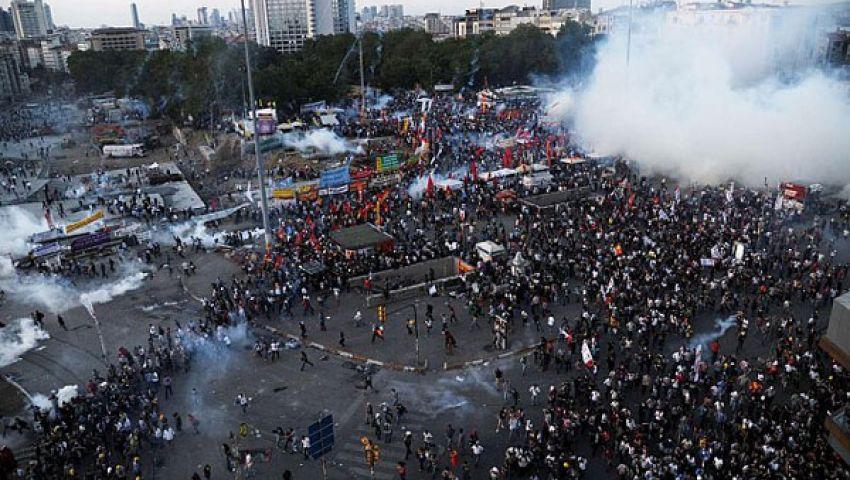 715 معتقلا خلال احتجاجات منتزه غيزي في تركيا
