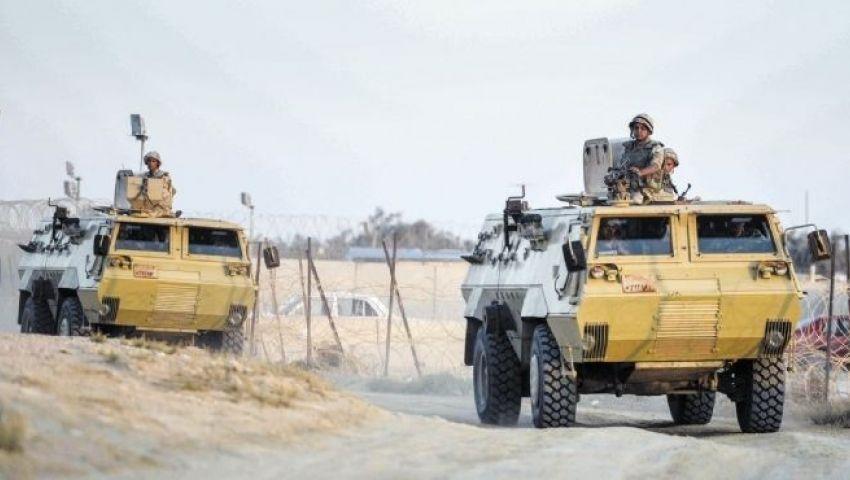 هجوم صاروخي على مقار عسكرية بالشيخ زويد