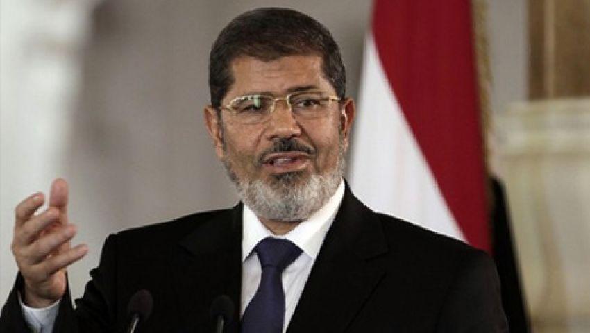حبس محمد مرسي 15 يوما للتحريض على العنف بـالاتحادية