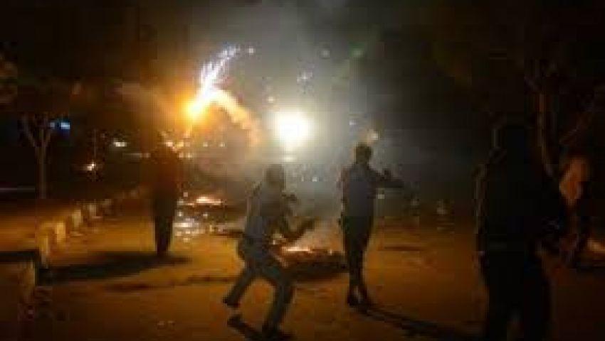 مواجهات بين مجهولين وقوات الجيش بمدخل مدينة الإسماعيلية