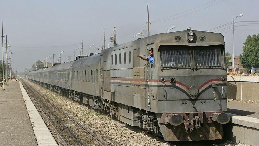 مصرع طالب أسفل عجلات قطار أبو قير