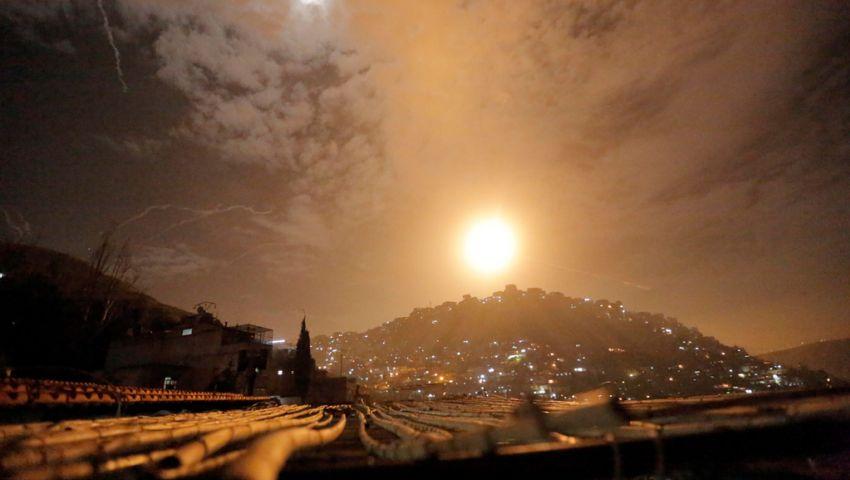 قصف إسرائيلي على سوريا.. والحصيلة مقتل 3 عسكريين وإصابة جندى