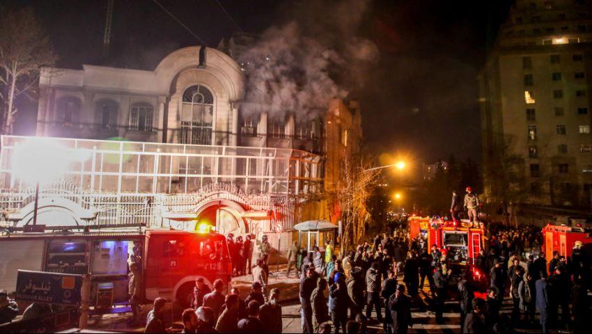 الأردن يدين اقتحام السفارة السعودية في طهران