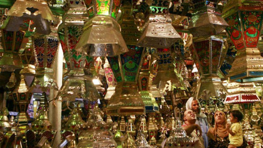 فيديو.. فوانيس رمضان سلعة رائجة للأقباط