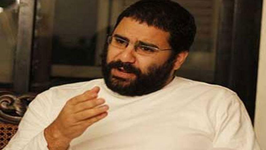 التحقيق مع علاء عبد الفتاح بتهمة التمويل