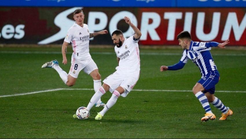 ريال مدريد يستعيد توازنه بانتصار مقنع على ألافيس