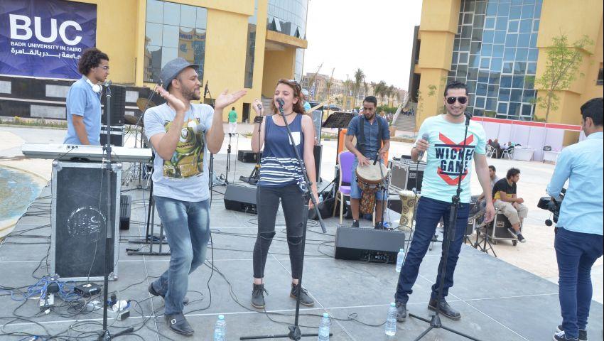 بالصور..انطلاق  المهرجان الثقافي والفني والرياضي بجامعة بدر