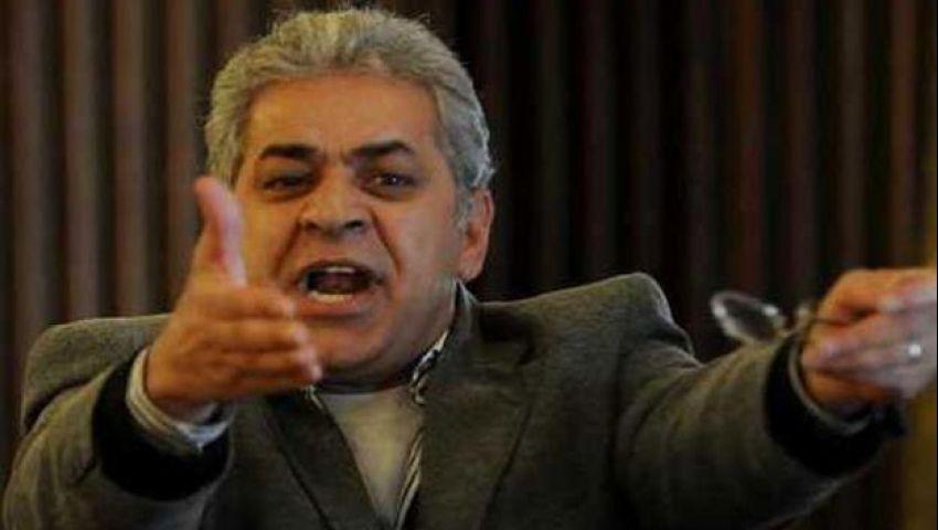 جمال حشمت يطالب صباحي باعتزال السياسة