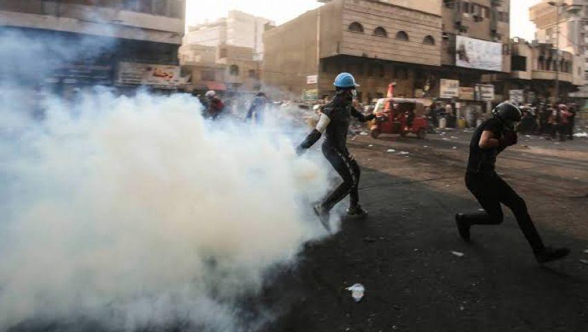كاميرا مسلحة وصحفي مشبوه.. آلة أمنية جديدة لقمع احتجاجات العراق