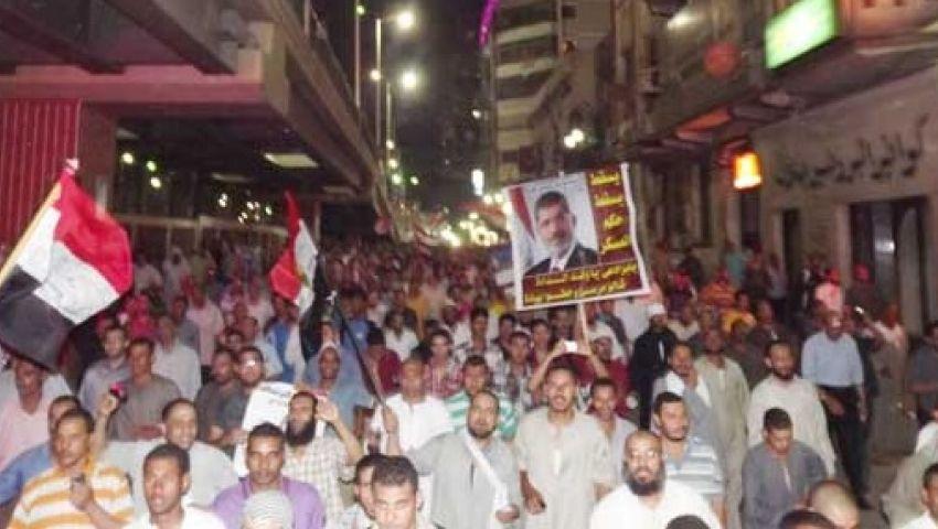 بث مباشر لتظاهرات ومسيرات دعم الشرعية والتنديد بالانقلاب
