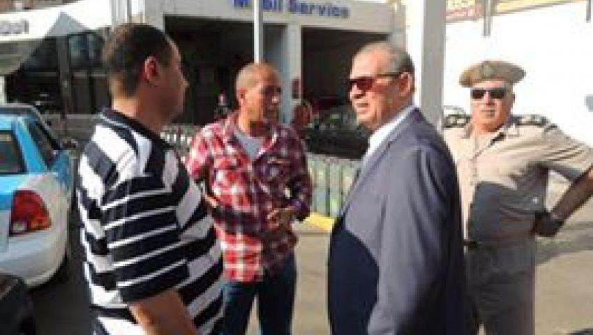 مدير أمن دمياط يتفقد الشوارع والميادين الرئيسية بالمحافظة