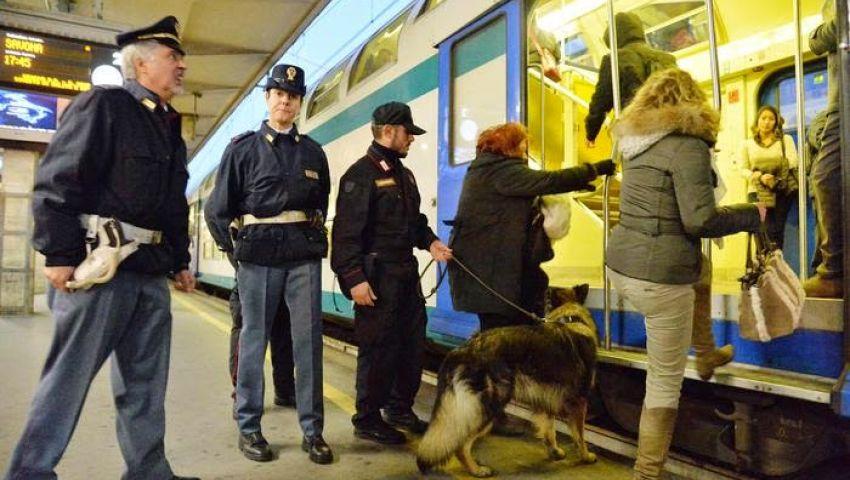 شرطة تورينو تفرض حصار لاستقبال جماهير إنجلترا