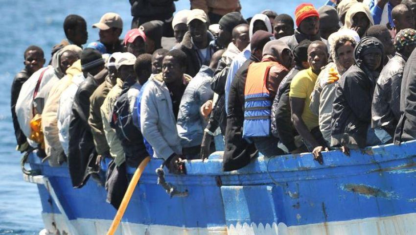 فقدان 153 مهاجرا أفريقيا إثر غرق زورقهم قرب ليبيا