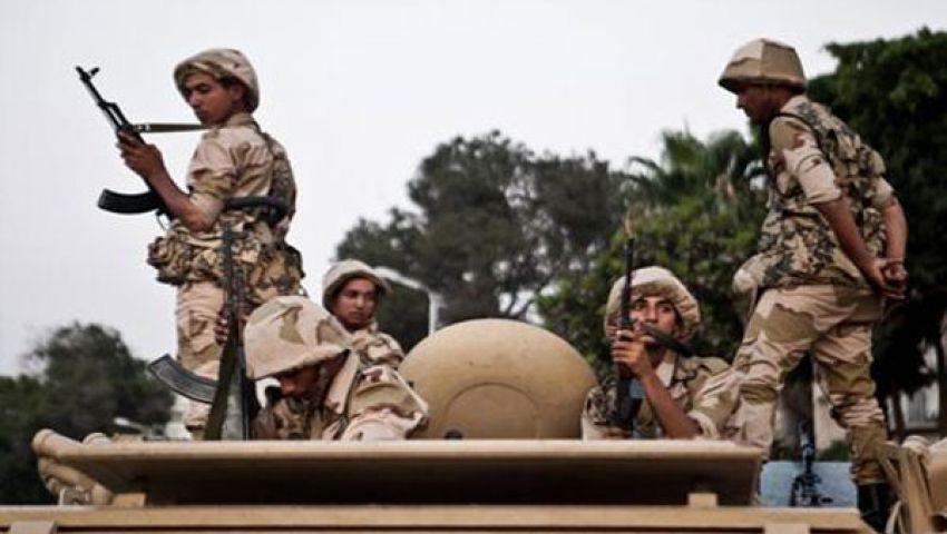مناوشات بين الجيش ومؤيدي مرسي بمكرم عبيد