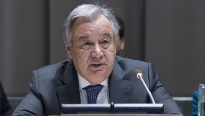 لهذه الأسباب..  الأمين العام للأمم المتحدة يلتقى السيسي والطيب فى القاهرة