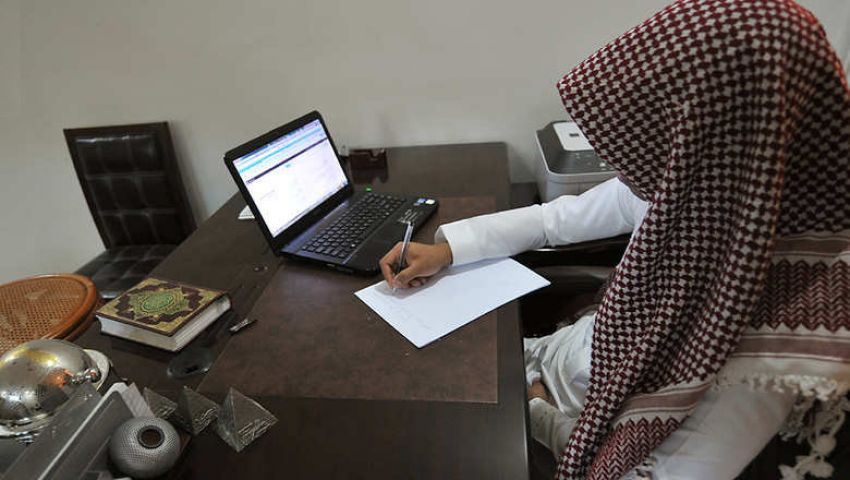 هاكر يخترق حساب وزارة العدل السعودية