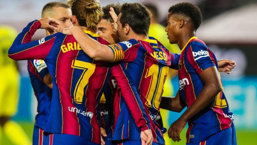 بالفيديو.. برشلونة يكتسح فياريال برباعية نظيفة في الدوري الإسباني