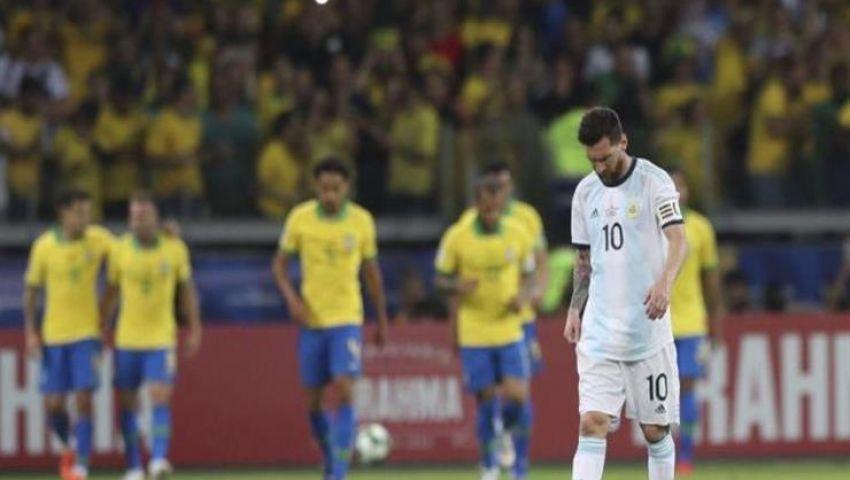 فيديو|  في مباراة «الحلم» بكوبا أمريكا.. البرازيل على بعد خطوة من اللقب وميسي «غضبان»