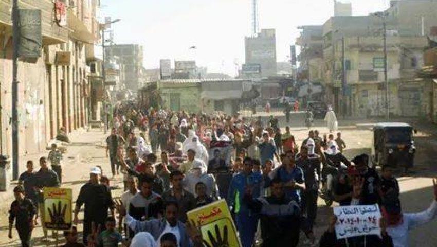 القبض على 4 معارضين في مسيرة بحوش عيسى