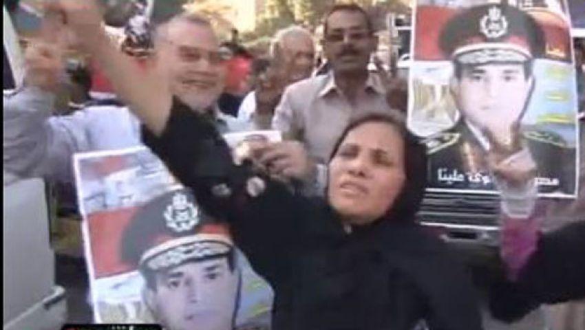 فيديو.. مسيرة بـالمعادي: الشعب يريد إعدام الإخوان