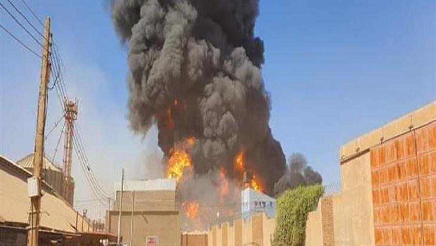 «الخارجية»تعلن مصرع 4 مصريين في حريق مصنع السراميك بالسودان