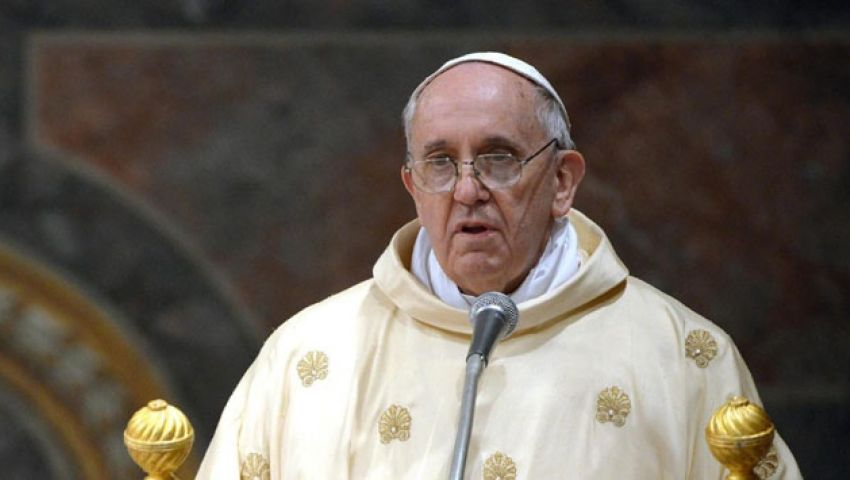 بابا الفاتيكان: من غير المقبول أن يدفع المدنيون ثمن الصراع في سوريا