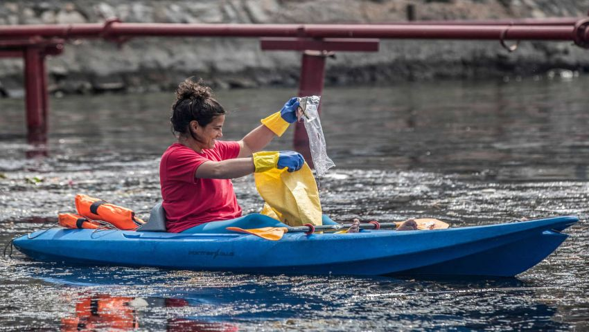 «خالٍ من البلاستيك».. مبادرة مصرية للحفاظ على النيل بعد «سد النهضة»