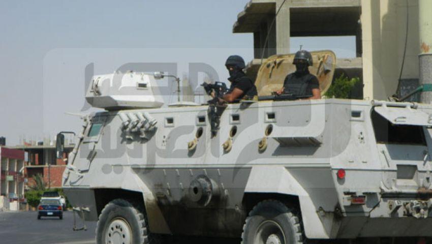 بالصور..الشرطة ملثمة في سيناء