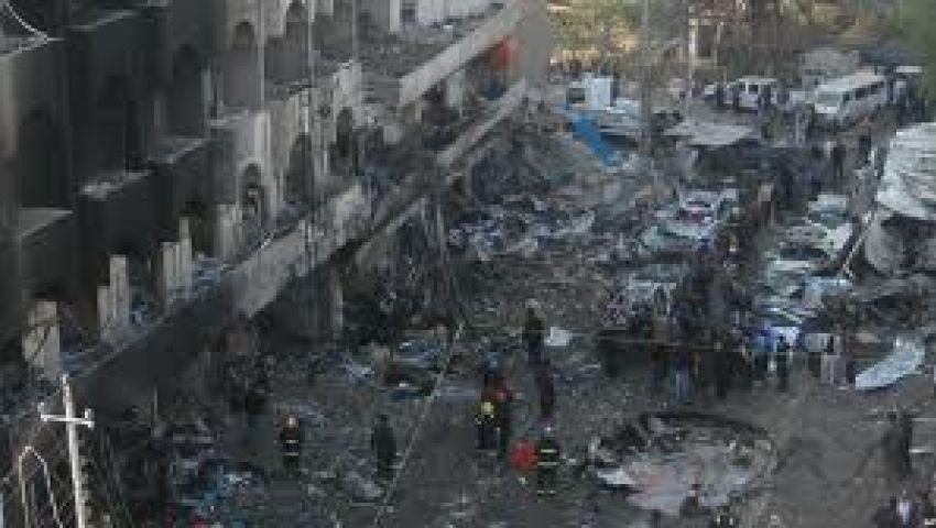 52 قتيلًا في انفجار مزدوج بمقهى شعبي ببغداد
