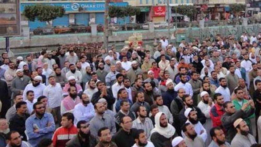 مظاهرات ومسيرات بالفيوم مؤيدة ومعارضة