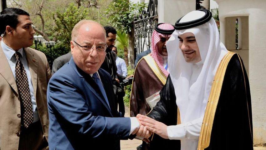 بالصور| النمنم يستقبل نظيره السعودي لبحث التعاون بين البلدين