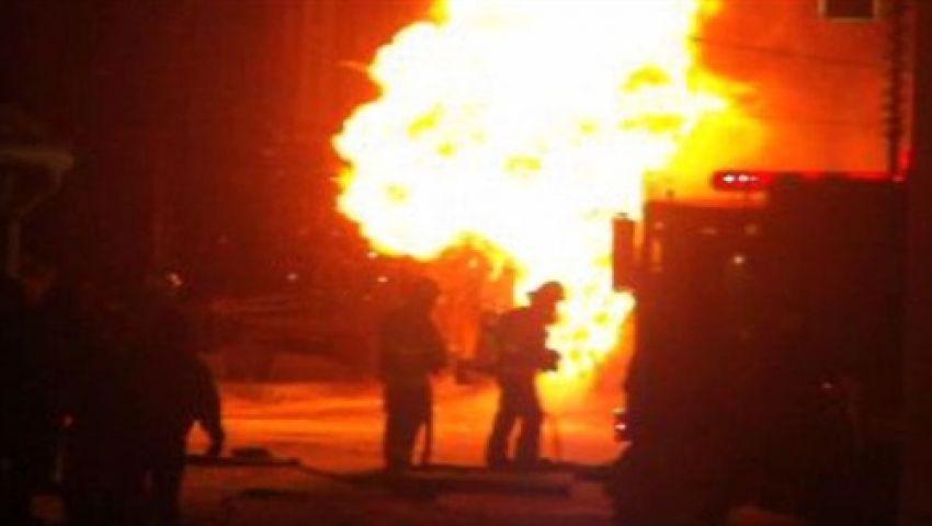 الفيوم.. انفجار قنبلة بجوار إدارة الحماية المدنية بحي الجامعة