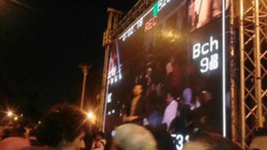 بالصور|  بدء حفل تامر عاشور بجامعة القاهرة