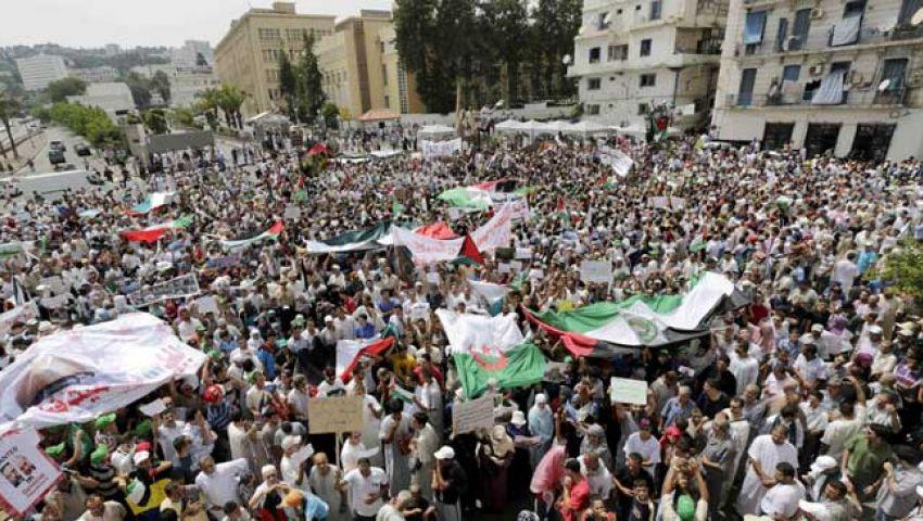 الجزائر.. الآلاف يتظاهرون دعما لغزة