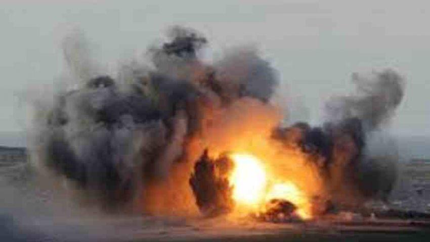 انفجار عبوة ناسفة قرب مدرعتين شمال سيناء