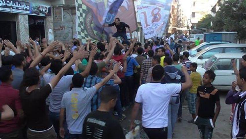 الأمن يفرق مسيرة شرق الإسكندرية لرفض الانتخابات