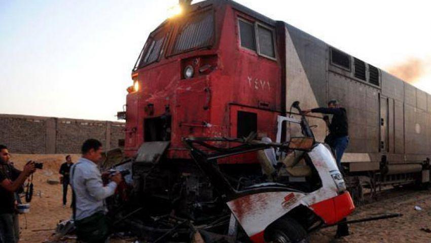 بالتفاصيل.. السجل الدامي لحوادث قطارات الموت