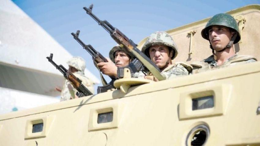 المتحدث العسكري: مقتل واعتقال 18 من التكفيريين بسيناء