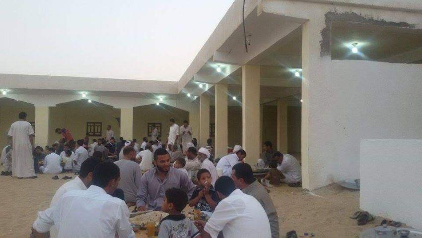 بالصور  رغم كورونا.. «الدواوين» قِبلة أهل البادية في سيناء لإفطار رمضان