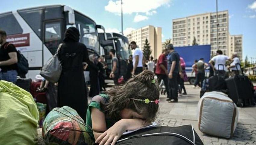 الفرنسية: بعد 8 سنوات.. اللاجئون السوريون «عبء» يرهق دول الجوار