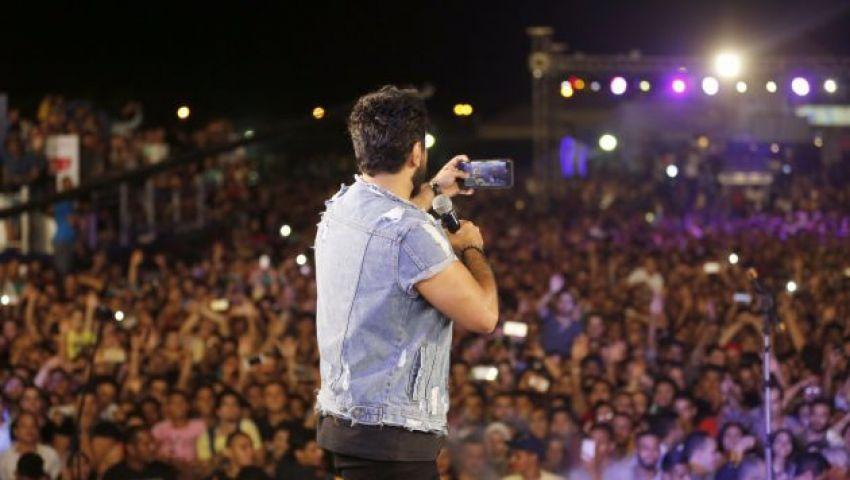 فيديو| حفلات شم النسيم تبدأ مبكرًا.. تامر حسني على رأس القائمة