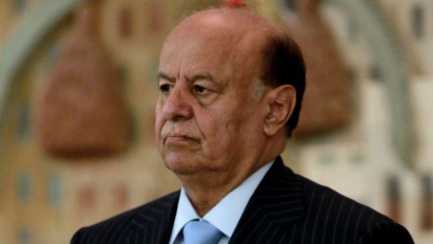 بعد رحلة علاجية بالولايات المتحدة.. منصور هادي يعود إلى الرياض