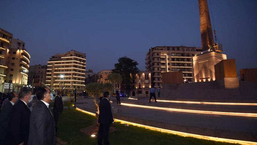 تزيين ميدان التحرير.. الثوب الجديد يغري المستثمرين (فيديو)