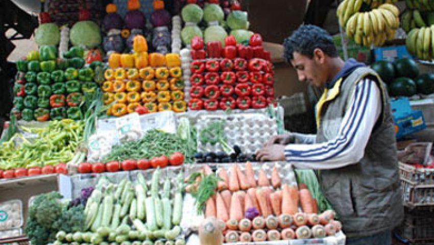 أسعار الخضار والفاكهة في سوق العبور اليوم اﻷحد 26-3-2017