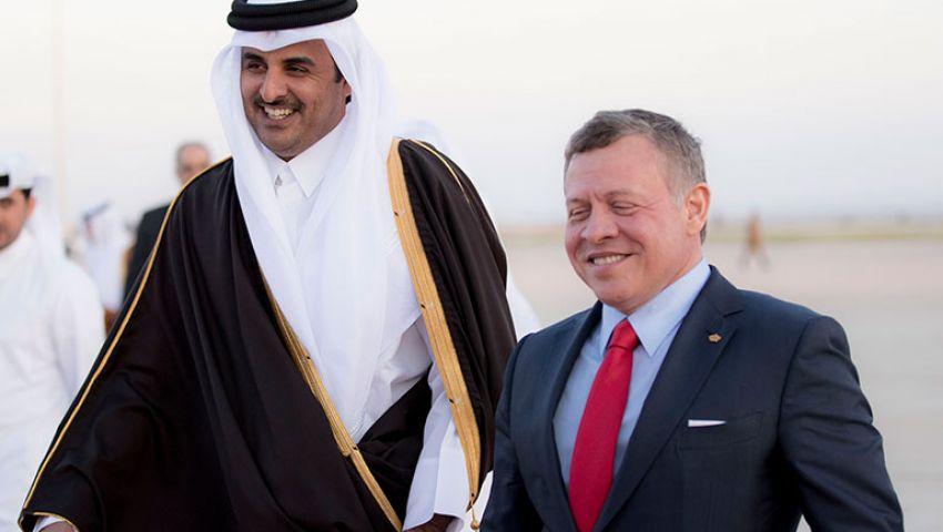 في أول حوار بين أمير قطر وملك الأردن.. ماذا حمل من توصيات؟