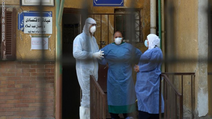 مصر تتخطى حاجز الـ 14 ألف إصابة بكورونا .. والوفيات تقترب من الـ 700 حالة