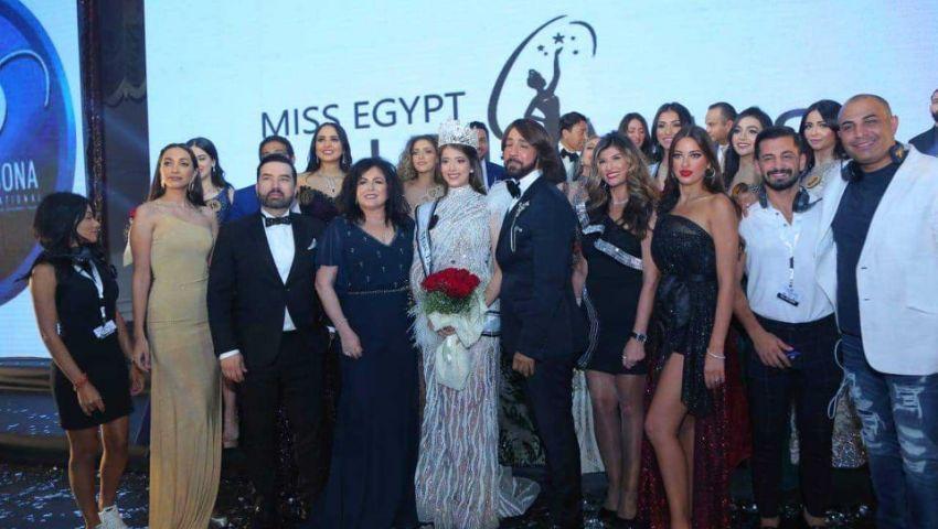 صور| ديانا حامد تتوج بملكة جمال مصر 2019