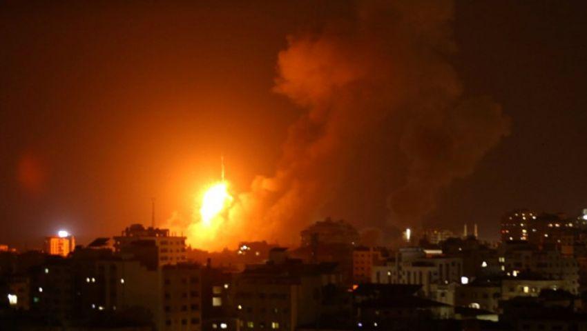 غزة تحت القصف.. الاحتلال يفتح الملاجئ ويشن غارات على القطاع